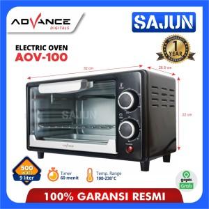 Harga oven listrik advance aov100 electric oven 9 liter 500 | HARGALOKA.COM