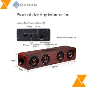 Harga xms toproad soundbar bluetooth speaker stereo subwoofer   w8   | HARGALOKA.COM