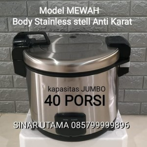 Harga magic com besar 40 porsi 20 liter magic jar rice cooker nasi | HARGALOKA.COM