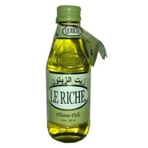 Harga minyak zaitun le riche olive oil lerichi 300 ml | HARGALOKA.COM