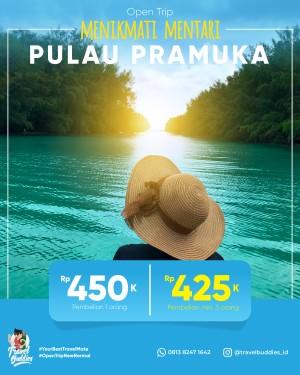 Harga paket wisata travel tour liburan pulau seribu   pramuka open | HARGALOKA.COM