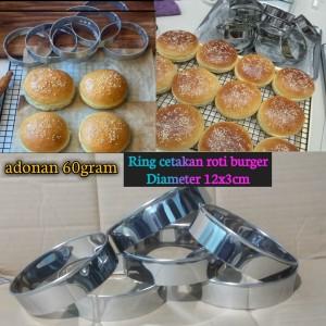 Harga ring cetakan kue bulat ring cutter bulat 12cm isi 6 | HARGALOKA.COM