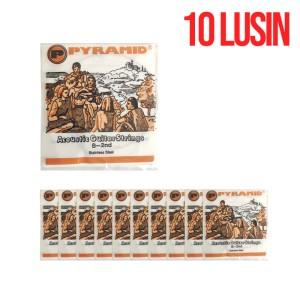 Harga senar gitar pyramid strings orange no 2 isi 10 | HARGALOKA.COM