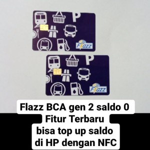 Harga kartu flazz bca gen 2 saldo 0     HARGALOKA.COM
