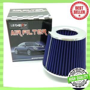 Harga intake open filter saringan udara racing simota biru air filter mobil   | HARGALOKA.COM