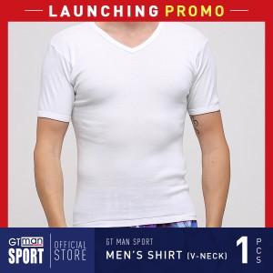 Harga pakaian dalam pria gt man tsgv new wh isi 1 pcs   men t shirt v neck   | HARGALOKA.COM