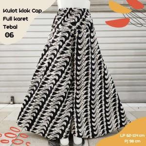 Harga kulot batik cap motif 06 | HARGALOKA.COM