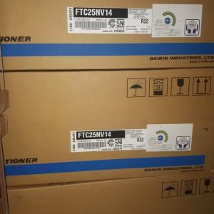 Harga indoor ac daikin 1 pk ftc25nv r32 bonus remote ac | HARGALOKA.COM