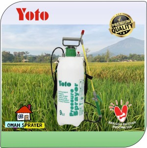 Info Pressure Sprayer Yoto 9 Liter Penyemprot Tanaman Bertekanan Katalog.or.id