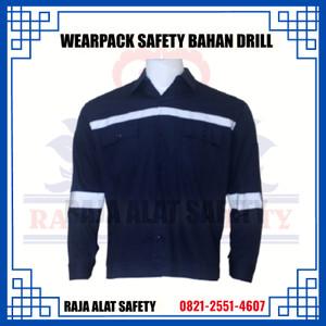 Info Wearpack Safety Baju Kerja Seragam Kerja Coverall Proyek Putih Xl Katalog.or.id