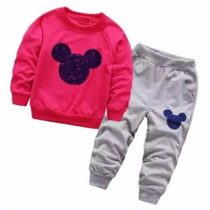 Harga setelan sweater anak nice 1 7 tahun sweater amp celana anak perempuan   fanta | HARGALOKA.COM