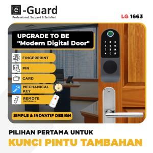 Harga e guard all in inovatif amp simple kunci pintu digital door lock lg63   tanpa | HARGALOKA.COM