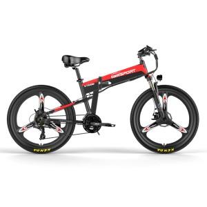 Harga taffsport lankeleisi xt600 elektirik bike mtb elite version 48v 10 4a   black | HARGALOKA.COM