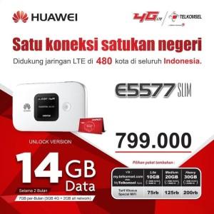 Harga mifi modem wifi 4g huawei e5577 unlock all operator best seller | HARGALOKA.COM