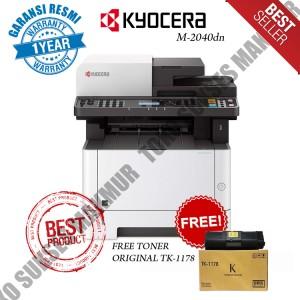 Harga mesin fotocopy kyocera m2040 dn toner kyocera tk 1178 | HARGALOKA.COM