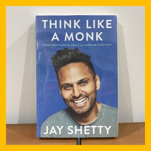Harga buku import think like a monk by jay shetty original paperback   HARGALOKA.COM
