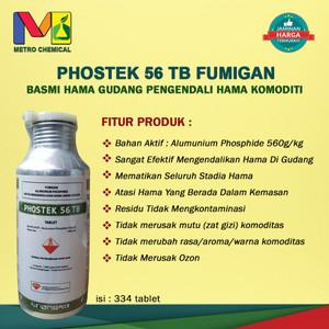 Harga phostek 56tb fumigasi obat basmi hama gudang pengendali hama | HARGALOKA.COM
