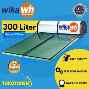Harga pemanas air solar heater wika 300 liter garansi resmi free | HARGALOKA.COM