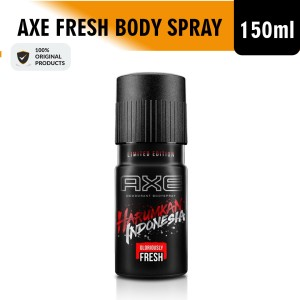 Harga axe body spray deodorant gloriously fresh harumkan indonesia | HARGALOKA.COM