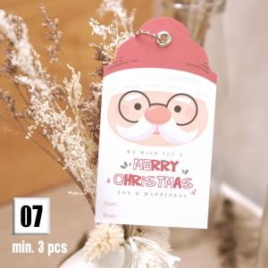 Harga tag kartu ucapan gift card christmas natal holiday season     HARGALOKA.COM