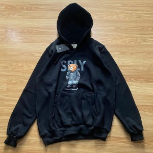 Harga jaket hoodie guc ci bear sply black atasan | HARGALOKA.COM