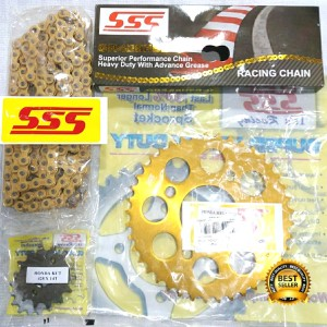 Harga gearset sss cb cbr gold aluminium | HARGALOKA.COM
