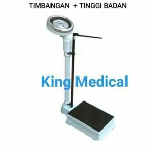 Harga timbangan standard rumah sakit berat tinggi badan smic zt 120   merk s m i c   HARGALOKA.COM