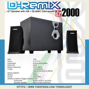 Harga speaker dazumba d remix   HARGALOKA.COM