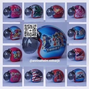 Harga helm bogo anak kartun ukuran usia 4 5 thn usia   HARGALOKA.COM