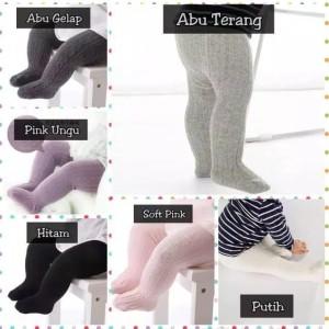 Harga celana legging polos bayi newborn lejing anak cowok cewek impor tebal   pink garispolos 12   24   HARGALOKA.COM