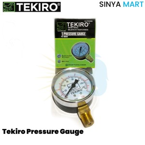 Harga Meteran Angin Bertekanan Tekiro Air Pressure Gauge 16 Bar Katalog.or.id