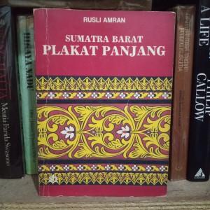 Harga sumatra barat plakat panjang   rusli | HARGALOKA.COM