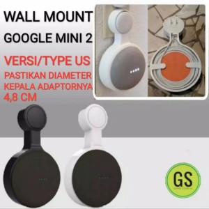 Harga wall mount stand hanger holder for google home mini nest 2 generation   | HARGALOKA.COM