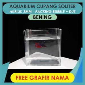Murah 25 Daftar Harga Aquarium Soliter Ikan Cupang 2020 Terbaru Spotharga Com