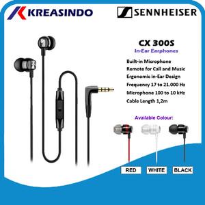 Harga sennheiser cx300s cx 300s cx 300 s headset earphone garansi resmi   | HARGALOKA.COM