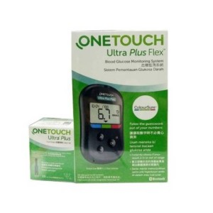 Harga one touch ultra plus flex 50 test strips blood glucose monitoring | HARGALOKA.COM