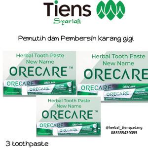 Harga orecare pemutih gigi dan penghilang karang pemutih gigi | HARGALOKA.COM