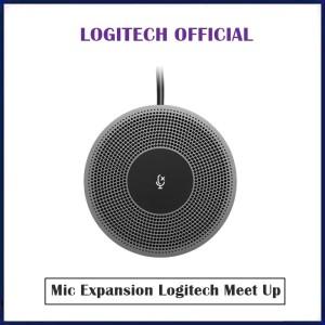 Harga logitech mic expansion for meet up webcam video conference | HARGALOKA.COM