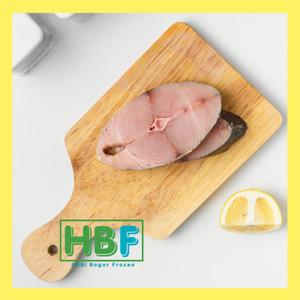 Harga ikan tenggiri steak cut murah bogor 250 | HARGALOKA.COM
