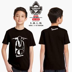 Harga kaos baju anak vespa lx kaos otomotif   | HARGALOKA.COM