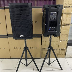 Harga speaker active pasif 15 inch blackspider gt15 bonus 2 sten dan mic | HARGALOKA.COM
