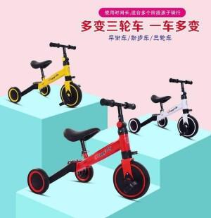 Harga balance bike happy baby 3 in 1 sepeda anak balance bike 3 roda   | HARGALOKA.COM