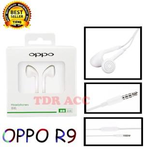 Harga handsfree headset earphone r9 r11 all tipe hp di varian   oppo | HARGALOKA.COM