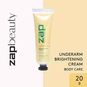 Harga zap underarm brightening cream 20 | HARGALOKA.COM
