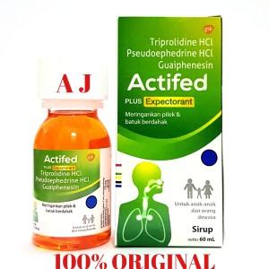 Harga actifed hijau 60ml obat untuk pilek amp batuk   HARGALOKA.COM