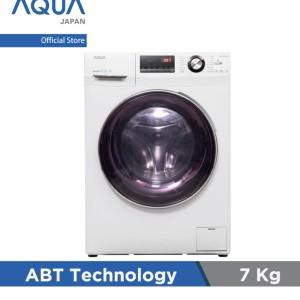 Harga aqua mesin cuci front loading 7 kg | HARGALOKA.COM