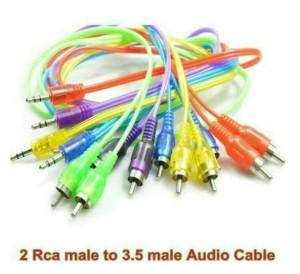 Harga cable aux audio 2 ke 2 kabel audio hp ke speaker jack 3 5mm | HARGALOKA.COM