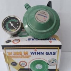 Harga regulator terbaik winn gas w 388 manometer | HARGALOKA.COM