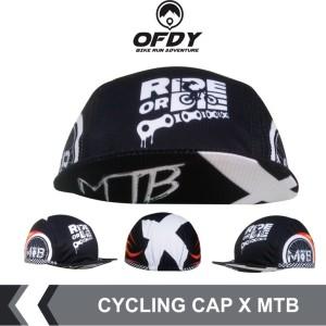 Harga cycling cap ofdy topi sepeda gowes sepeda lipat mtb terbaru x mtb   x | HARGALOKA.COM
