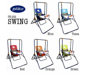 Harga pliko pk 202 swing baby ayunan bayi kursi makan bayi dengan mainan   | HARGALOKA.COM
